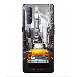 Coque New York Taxi Pour Oppo Find X2 Neo