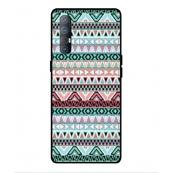 Coque Broderie Mexicaine Pour Oppo Find X2 Neo