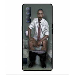 Oppo Find X2 Neo Obama On The Toilet Cover