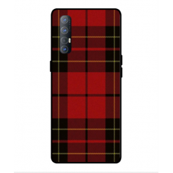 Coque Broderie Suédoise Pour Oppo Find X2 Neo