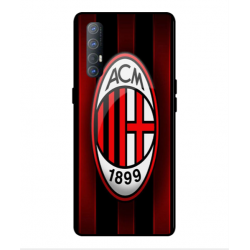 Oppo Find X2 Neo AC Milan Cover