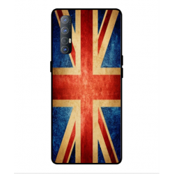 Coque Vintage UK Pour Oppo Find X2 Neo