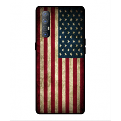 Coque Vintage America Pour Oppo Find X2 Neo
