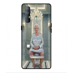 Oppo Find X2 Neo Her Majesty Queen Elizabeth On The Toilet Cover