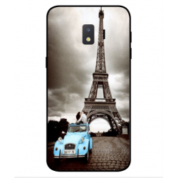 Samsung Galaxy J2 Core 2020 Vintage Eiffel Tower Case