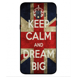Samsung Galaxy J2 Core 2020 Keep Calm And Dream Big Cover