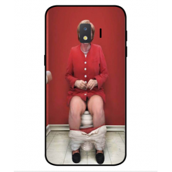 Samsung Galaxy J2 Core 2020 Angela Merkel On The Toilet Cover