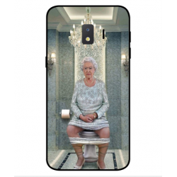 Samsung Galaxy J2 Core 2020 Her Majesty Queen Elizabeth On The Toilet Cover