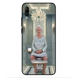 Wiko View 3 Her Majesty Queen Elizabeth On The Toilet Cover
