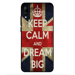 Wiko View 3 Lite Keep Calm And Dream Big Cover