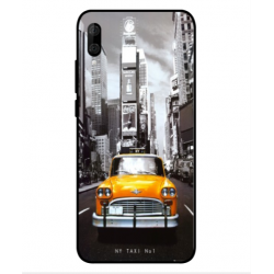 Wiko View 3 Lite New York Taxi Cover