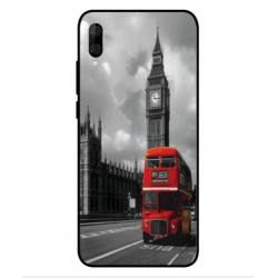 Wiko View 3 Lite London Style Cover