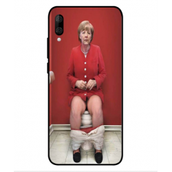 Wiko View 3 Lite Angela Merkel On The Toilet Cover