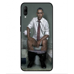 Wiko View 3 Lite Obama On The Toilet Cover
