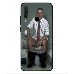 Wiko View 3 Pro Obama On The Toilet Cover