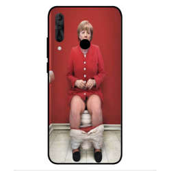 Wiko View 3 Pro Angela Merkel On The Toilet Cover