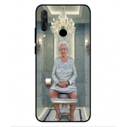 Wiko View 3 Pro Her Majesty Queen Elizabeth On The Toilet Cover