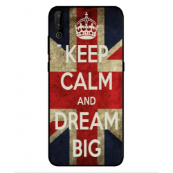 Wiko View 4 Lite Keep Calm And Dream Big Cover