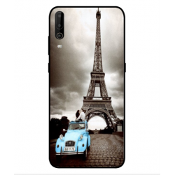 Wiko View 4 Lite Vintage Eiffel Tower Case