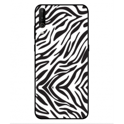Wiko View 4 Lite Zebra Case
