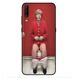 Wiko View 4 Lite Angela Merkel On The Toilet Cover