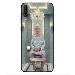 Wiko View 4 Lite Her Majesty Queen Elizabeth On The Toilet Cover