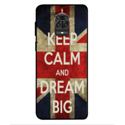 Xiaomi Redmi Note 9S Keep Calm And Dream Big Cover