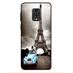 Xiaomi Redmi Note 9S Vintage Eiffel Tower Case