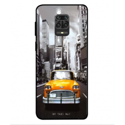 Xiaomi Redmi Note 9S New York Taxi Cover