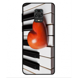Xiaomi Redmi Note 9S I Love Piano Cover