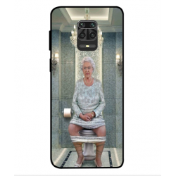 Xiaomi Redmi Note 9S Her Majesty Queen Elizabeth On The Toilet Cover