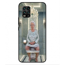 Xiaomi Mi 10 Youth 5G Her Majesty Queen Elizabeth On The Toilet Cover