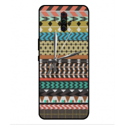 ZTE Nubia Play Mexican Embroidery With Clock Cover