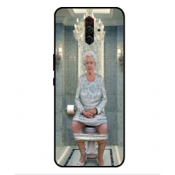 ZTE Nubia Play Her Majesty Queen Elizabeth On The Toilet Cover