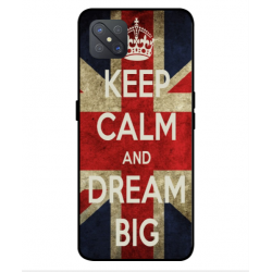 Oppo A92s Keep Calm And Dream Big Cover