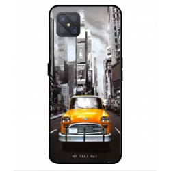 Oppo A92s New York Taxi Cover