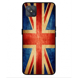 Coque Vintage UK Pour Oppo A92s