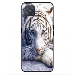 Coque Protection Tigre Blanc Pour Oppo A92s
