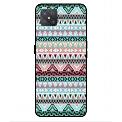 Coque Broderie Mexicaine Pour Oppo A92s
