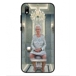 Huawei Y5 2019 Her Majesty Queen Elizabeth On The Toilet Cover
