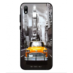 Coque New York Taxi Pour Huawei Y5 2019