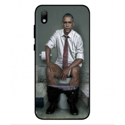 Huawei Y5 2019 Obama On The Toilet Cover