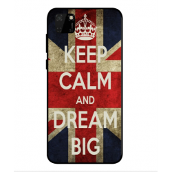 Huawei Y5p Keep Calm And Dream Big Cover