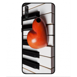 Coque I Love Piano pour Huawei Y6p