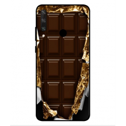 Huawei Y6p I Love Chocolate Cover