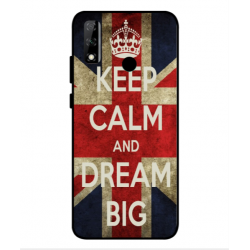 Huawei Y8s Keep Calm And Dream Big Cover