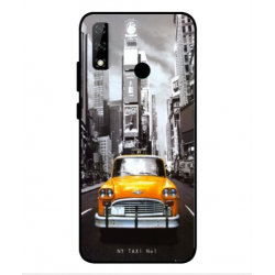 Huawei Y8s New York Taxi Cover