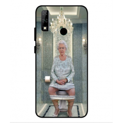 Huawei Y8s Her Majesty Queen Elizabeth On The Toilet Cover