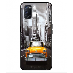 Oppo A52 New York Taxi Cover