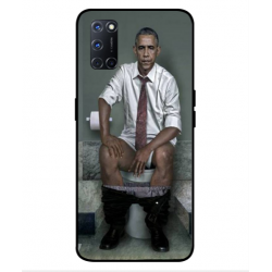 Oppo A52 Obama On The Toilet Cover